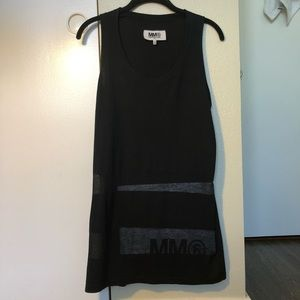 Maison Martin Margiela Sheer Striped Dress